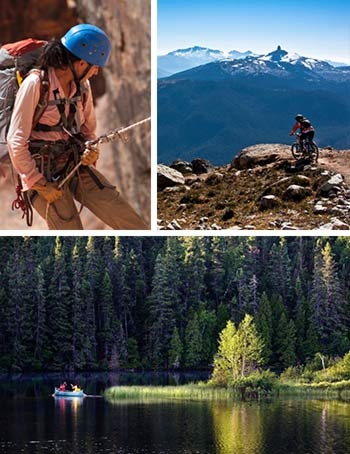 Climbing Mountain Biking Canoeing Canada Montreal Aktivities