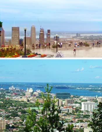 City Skyline Montreal